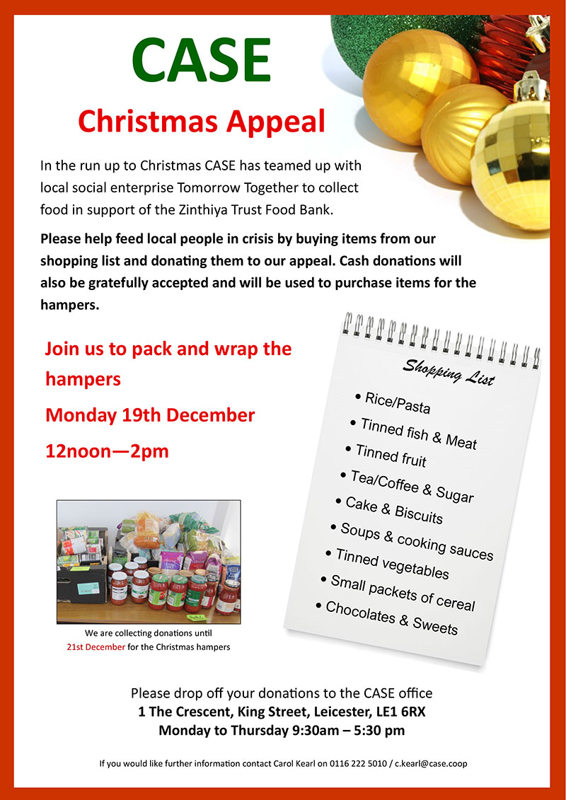 Case Christmas Appeal